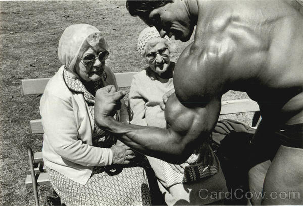 early arnold schwarzenegger photos. Arnold Schwarzenegger
