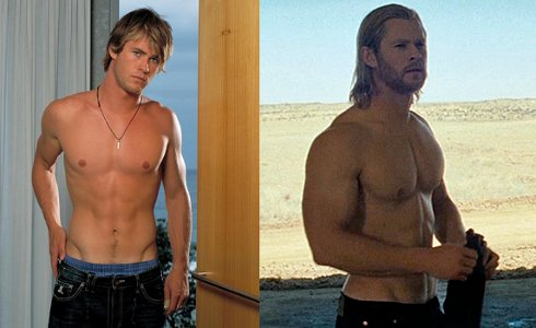 chris hemsworth workout_10. This transformation took 3